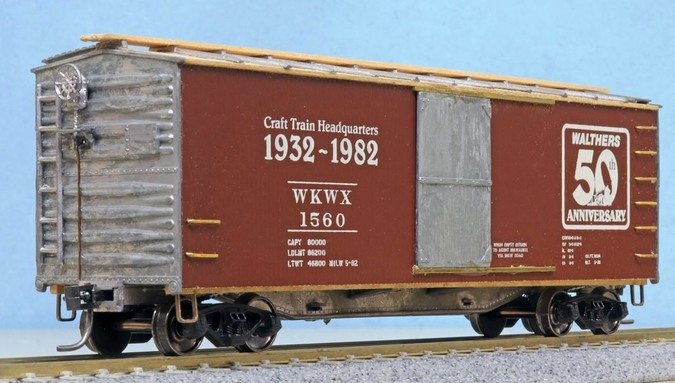 Walthers 50th Anniversary boxcar