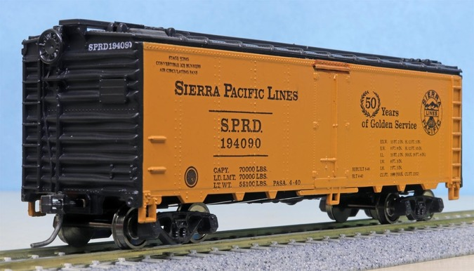 Pasadena Model Railroad Club 50 Years 1990, 40' reefer