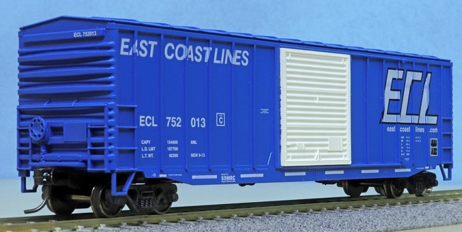 South Shore Model Railway Club 50-ft boxcar