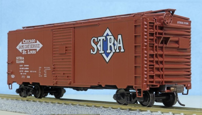 Springfield Model Railroad Club boxcar