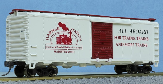 Harmar Station Historical Model Railroad Museum Athearn box car